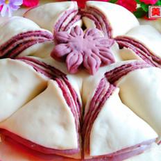 花式紫薯椰蓉卷