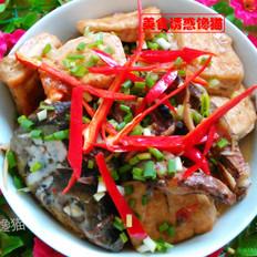草鱼焖豆腐