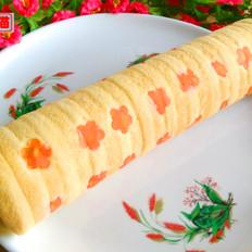 肉松紫薯蛋糕卷