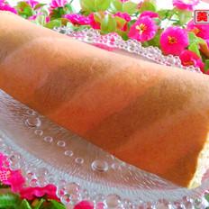 彩条蛋糕卷
