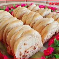 红枣蛋糕面包卷