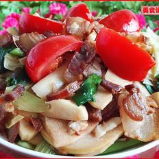 腊肉炒春笋