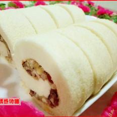 红枣蛋糕卷