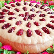 红糖红枣发糕