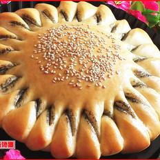 向日葵芝麻酱面包