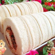 花生芝麻蛋糕卷