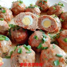 鹌鹑蛋肉丸