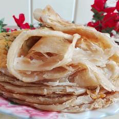 鸡蛋千层葱油饼