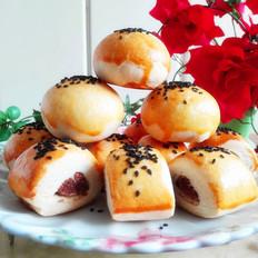 花生芝麻(豆沙椰蓉)千层酥