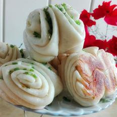 生煎香葱花卷