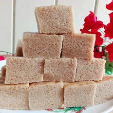 红糖马拉糕(无泡打粉)