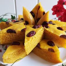 南瓜红枣马拉糕(无泡打粉)