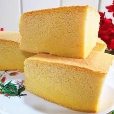 方形古早蛋糕