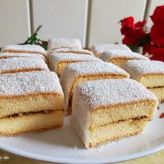 椰蓉蛋糕糯米糍的做法