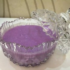 紫薯山药牛奶羹