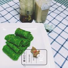 营养早餐之蔬菜鸡蛋饼+五谷豆浆