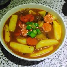 韩国辣炒年糕