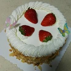 鲜奶蛋糕的做法