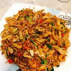 干焖小虾米