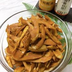 油焖春笋,适时食鲜
