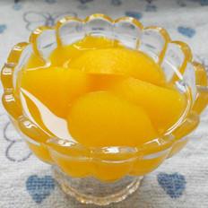 原创       糖水黄桃