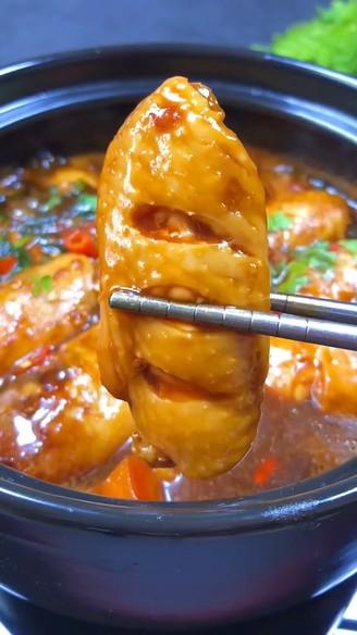 三汁鸡翅焖锅的做法【步骤图】