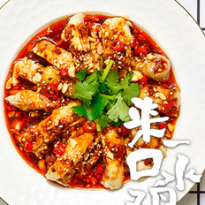 川味口水鸡,3勺酱汁搞定蘸料