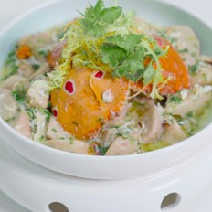 葱油芋艿蟹