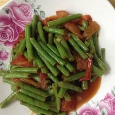 西红柿炒豆角