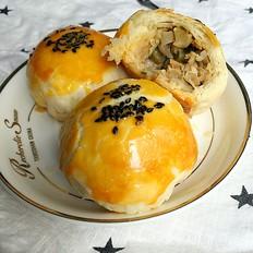 苏式月饼:咸酥榨菜肉馅的做法