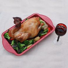 香脆烤全鸡