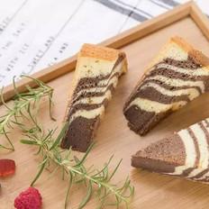 酸奶斑马纹蛋糕