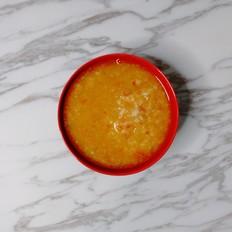 白萝卜枸杞粥