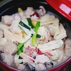 汕尾风味-腐竹海鳗煲