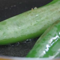 青椒肉末干煎