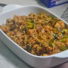 香辣咖喱炒饭