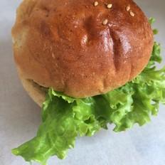 全麦汉堡包