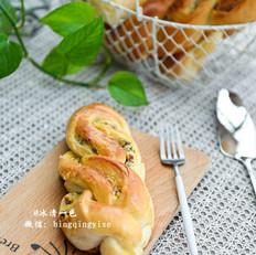 蔓越莓奶酥面包