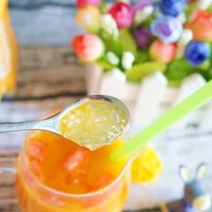夏日营养饮品—西米露沙棘汁