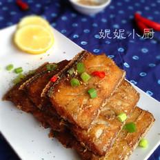 五香酥炸带鱼