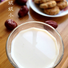 紅棗花生豆漿