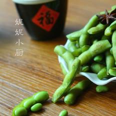 啤酒盐水毛豆