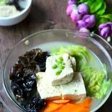 鸡汁豆腐汤