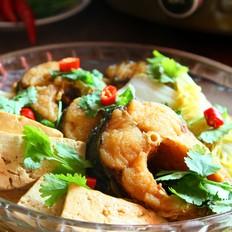 砂锅豆腐炖鱼