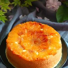 焦糖菠萝翻转蛋糕