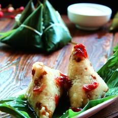 糖玫瑰绿豆糯米粽