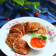 香煎龙利鱼饼