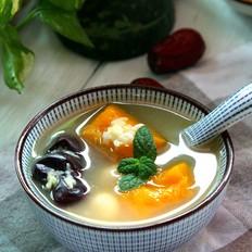 红枣窝瓜绿豆汤