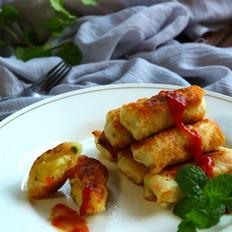 土豆沙拉卷的做法
