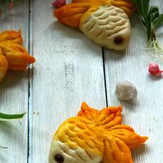 金鱼馒头的做法